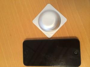 Min gigantiska meduxin och mattes iPhone